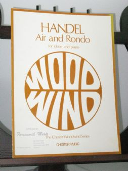 Handel G F - Air and Rondo arr Rothwell E for Oboe & Piano